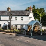 The Castle Inn has a huge marquee out the front for those lovely sunny days.