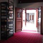 Inside the Tea House doors