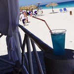 Blue Cayo Coco - Melia-made drink