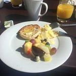Horrible breakfast/not free