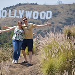 Scott took us to the best place to view the Hollywood sign.