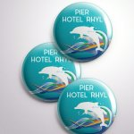 Pier Hotel Pin Badges 2017