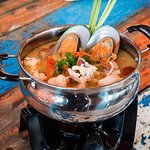 Tom Yam seafood