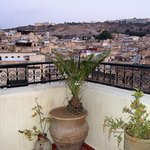 View over Fes from the terrace of Dar Sienna.
