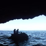 Photos bought from Water Sports Tenerife - inside a cave at Los Gigantes
