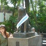 Photo of Hachiko