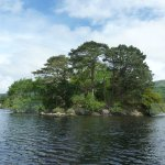 little island on the Loch Lomond