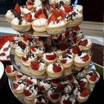 Buffet de dessert et entrée à volonté