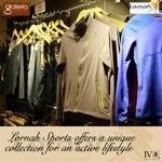 Africa's first sports apparel, designed by a Marathon champion, at Galleria