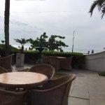 Buffet Restaurant sea facing