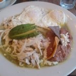 Picture does not do it justice. Chilaquiles
