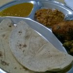 Fish, curry and chapati