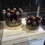 coronets worn by the 14th Earl & Countess