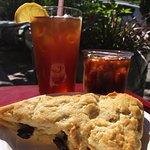 Iced tea, cold brew coffee & home made gluten free goodies