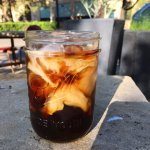 Cold brew coffee...a real treat