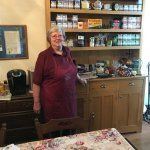 Kathleen offers an extensive selection of teas & coffee