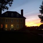 The Manor House at sunset