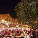 Nuit de la Saint-Jean vue du café des Arcades