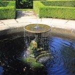 Fountain at garden