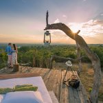 Mkulumadzi star bed. Spend a night gazing at the stars in the open wilderness