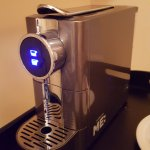 The Coffee Machine, a welcome sight