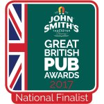 Finalist In The Great British Pub Awards 2017