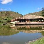 Lago e restaurante do lago