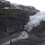 Where the glacier was 12 years ago