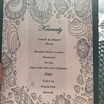 Personalized menus to accommodate food allergies