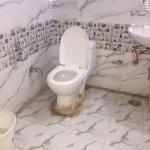 Dirty toilets. poor plumbing.