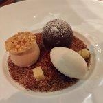 Chocolat fondant with Coffee and Peanut