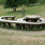 Winkworth Arboretum - Seat / Picnic Table