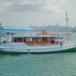 Standar boat for sailinf to Komodo island