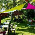 Jardin ombragé chez Avel Zo ! Plestin