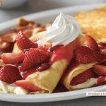 Strawberry Crepes Combo