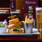 Can you finish our famous 100% irish beef burger?