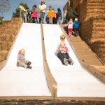 Kids Can Play On Slide | Fifer Orchards