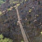 suspension bridge crossing