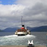 The Waverley leaving Rothesay
