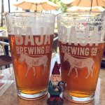 Enjoying some Pale Ales with the Travel Gnome.