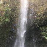 Enjoying the falls
