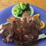 Open Faced Roast Beef