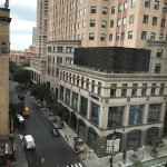 View of 8th Avenue and W. 49th St from Room 802