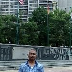 At the park near Musical fountain