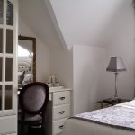 Panoramic photo of our superior double room