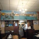 Decor of the Jolly Restaurante