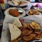 Pastrami Sandwiches, Latkes and Mini-Dogs in Blankets