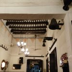 Old style high ceilings.