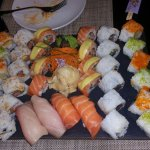 The Sushi plate in Pago Pago!!!