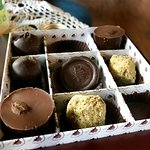 Assortment of home-made chocolates!